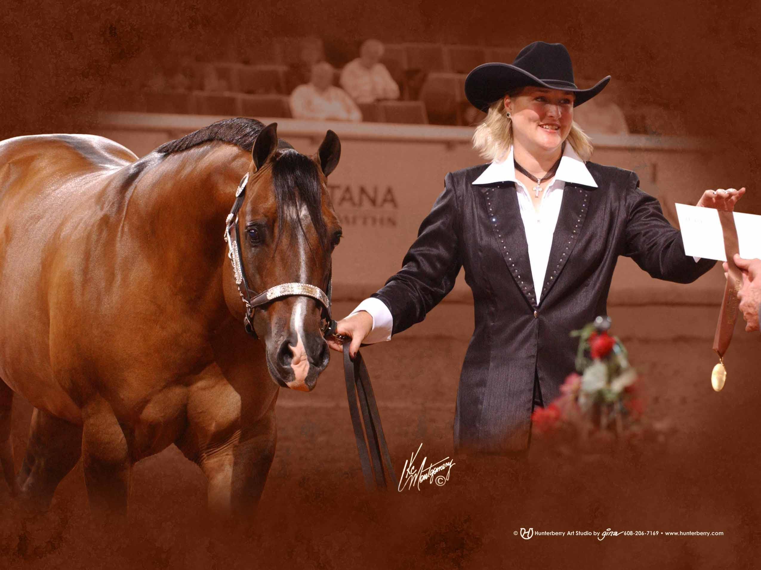 Golden Impact at the 2005 AQHA World Show