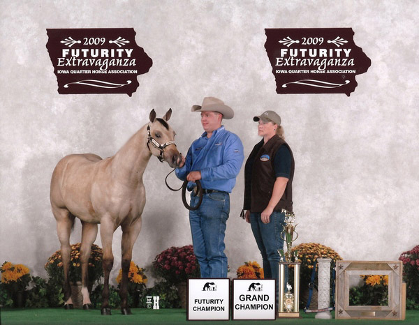 Winner of the 2009 IA Breeders Futurity!