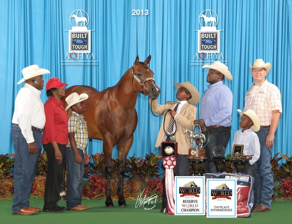 Truizm - 2013 AQHYA Reserve World Champion Yearling Gelding